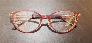 眼鏡 ピンク 上品 情熱