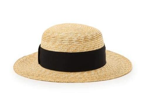 satowaクラウンが平らな帽子