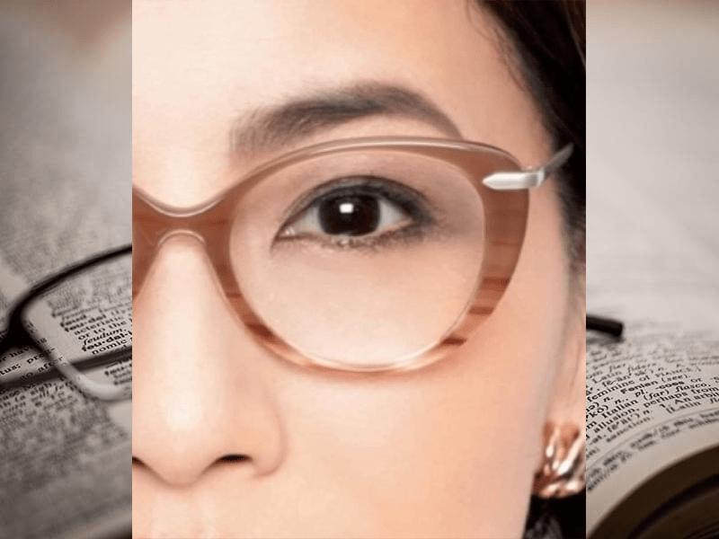 satowaメガネフレームと眉の関係