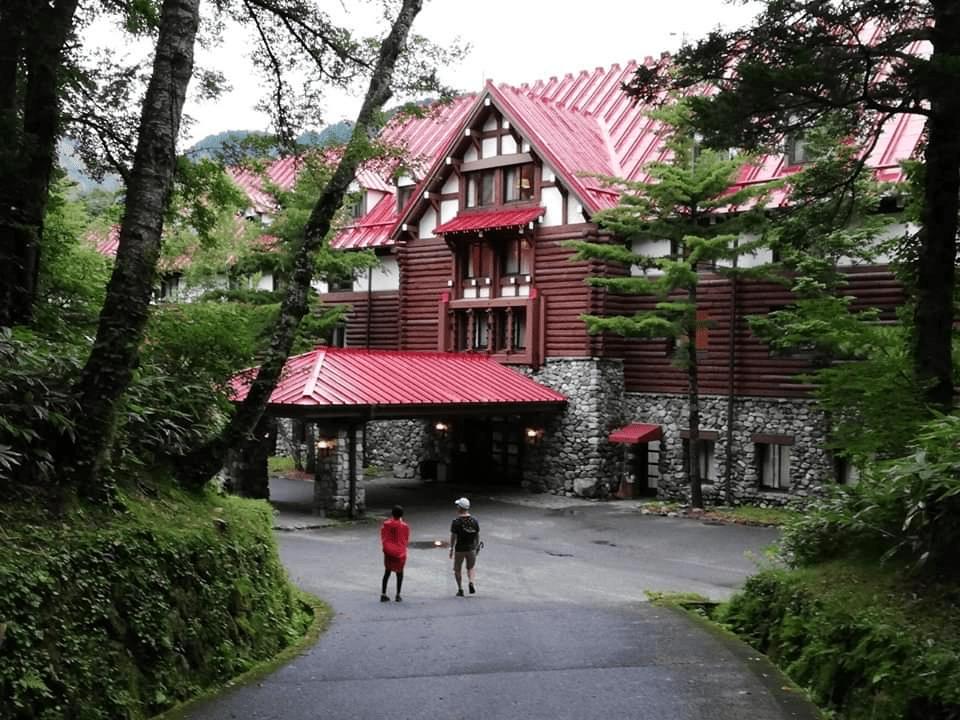satowa上高地帝国ホテルの外観