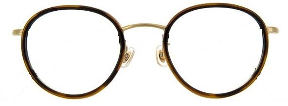 横幅があまりないメガネ