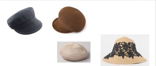 つば広帽子