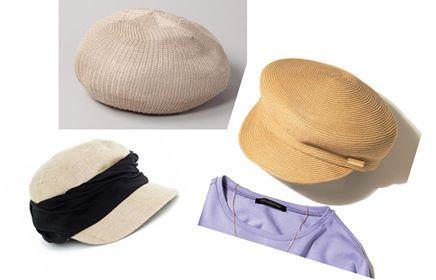オンライン映えする帽子